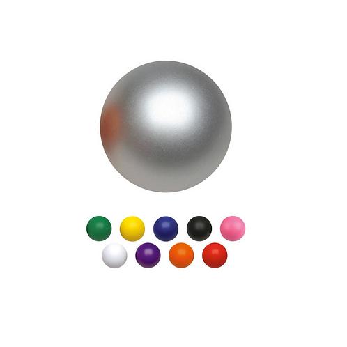 Antiestrés de poliuretano en forma de pelota.