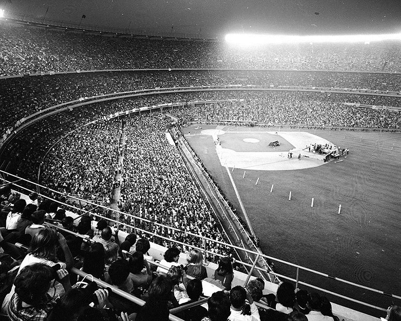 The Beatles perform Shea Stadium 1965. Historian lecturer curator Gary Astridge