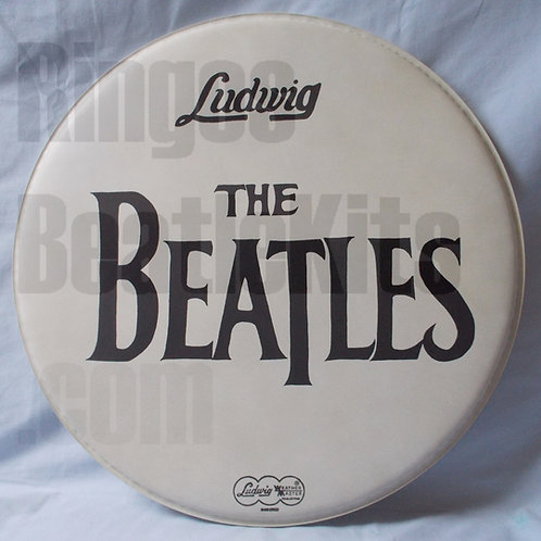 "#3 1964 Beatles Drop-T ""A Hard Day's Night"" Drumhead"