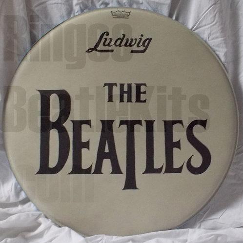 #4 1964 Beatles Drop-T Drumhead