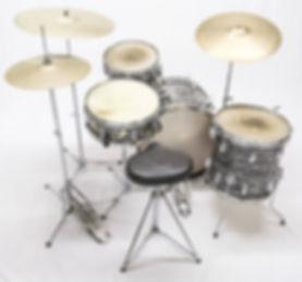 1963 Ludwig Downbeat model Beatle kit #