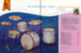 60s Ludwig drum kit brochure