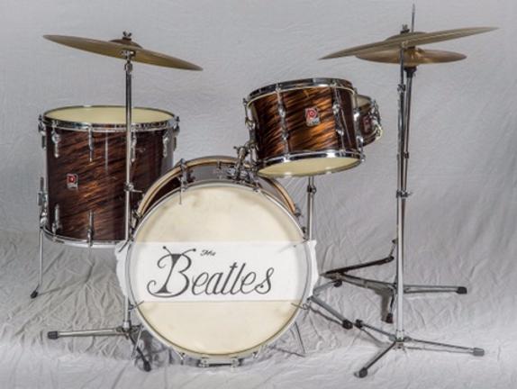 Ringo Starr 1960 Premier Mahogany Duroplastic Drum Kit Gary Astridge historian