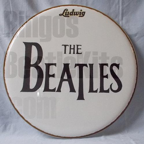 #1 1963 Beatles Drop-T Drumhead