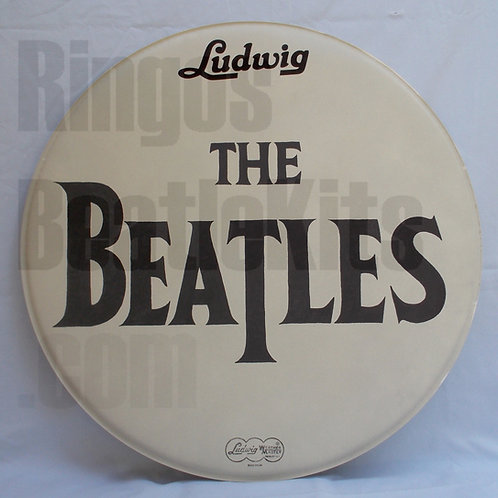 "#5 1965 Beatles Drop-T ""Shea Stadium"" Drumhead"