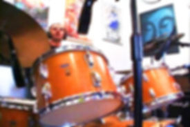 Ringo's Ludwig Maple kit Choose Love sessions. Gary Astridge historian