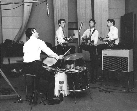 Beatles marathon recording session. Historian Gary Astridge