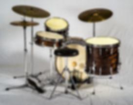 Ringo Starr 1960 Premier Mahogany Duroplastic Drum Kit - Gary Astridge historian
