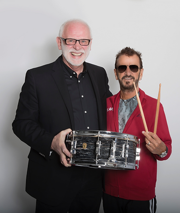 Gary Astridge and Ringo Starr w Starr Fe