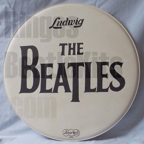 #6 1966 Beatles Drop-T Drumhead