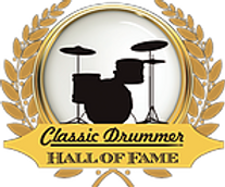 Classic Drummer Hall of Fame logo