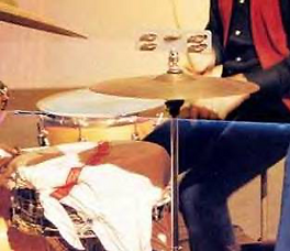 Ludwig hi hat tambourine bar. Beatles. Gary Astridge historian lecturer. Ringo Starr - Let It Be
