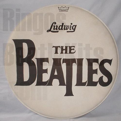 "#2 1964 Beatles Drop-T ""Sullivan"" Drumhead"