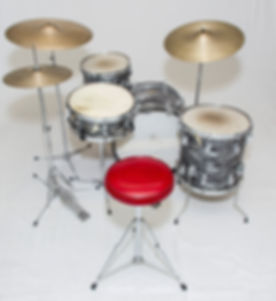 Ringo Starr's 1964 Ludwig Downbest model Beatles drum kit. Historian Lecturer Gary Astridge
