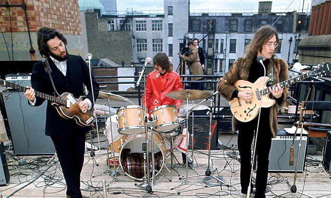 Beatles Roof Top, January 30, 1969. Gary Astridge historian