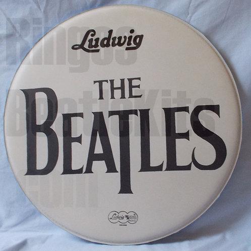"""#7 1969 Beatles Drop-T """"Let It Be"""" Drumhead"""
