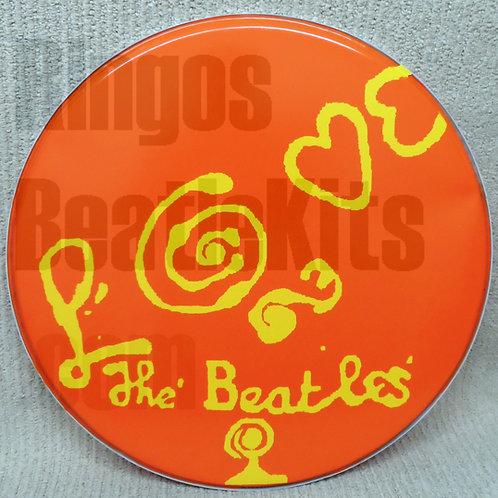 'LOVE The Beatles' Drumhead