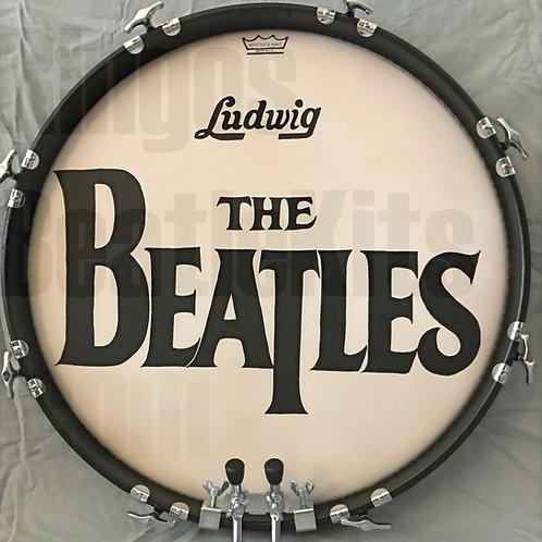 Beatles Drumhead Wall Display