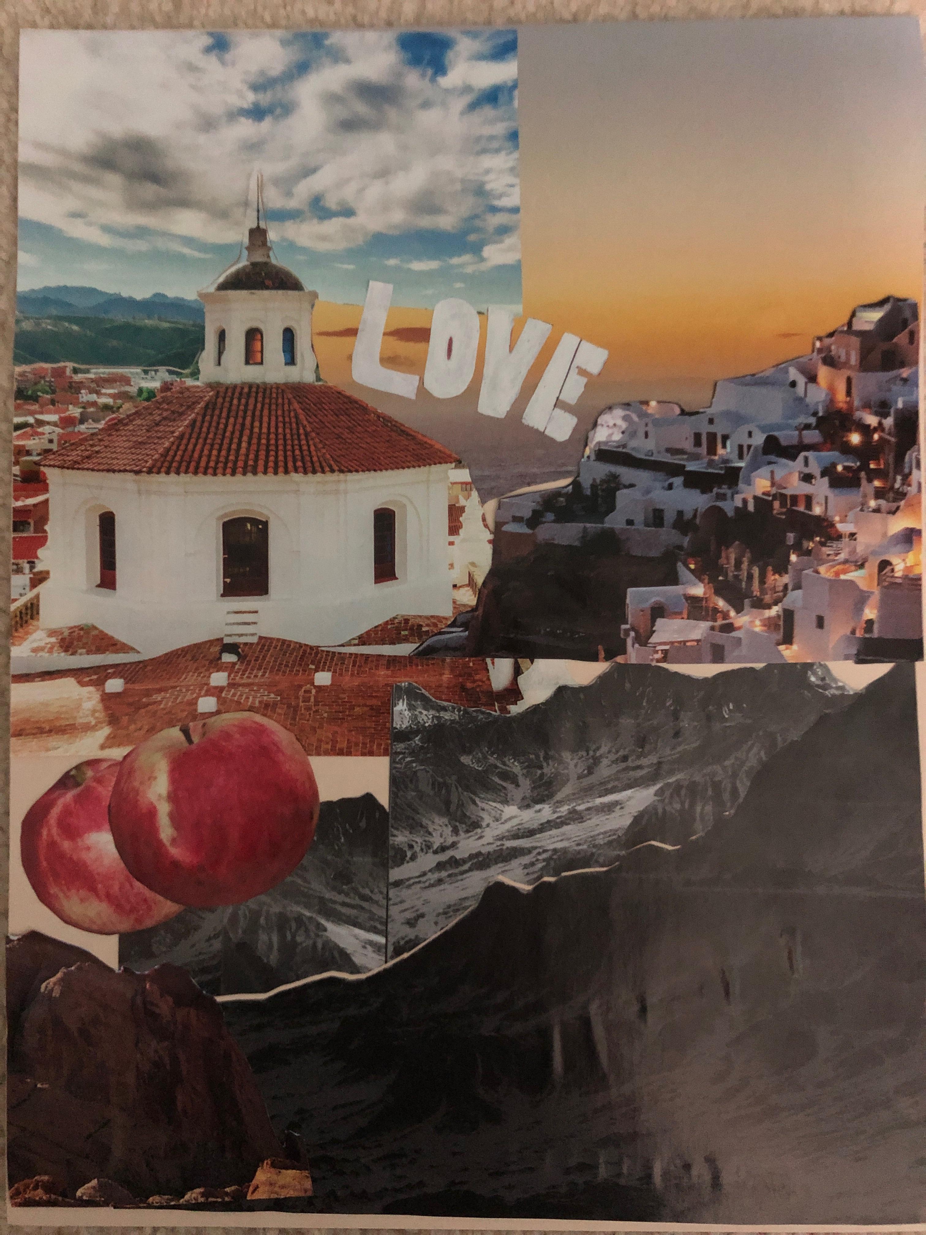 vivian collage