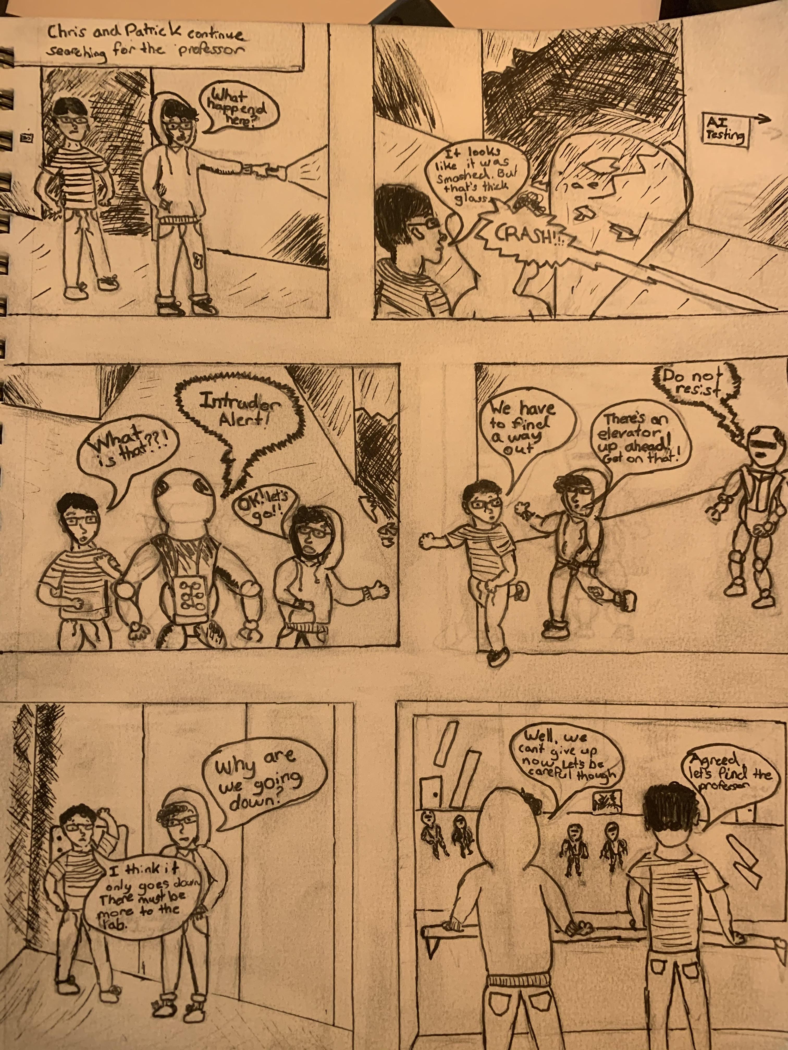 Kieran comic