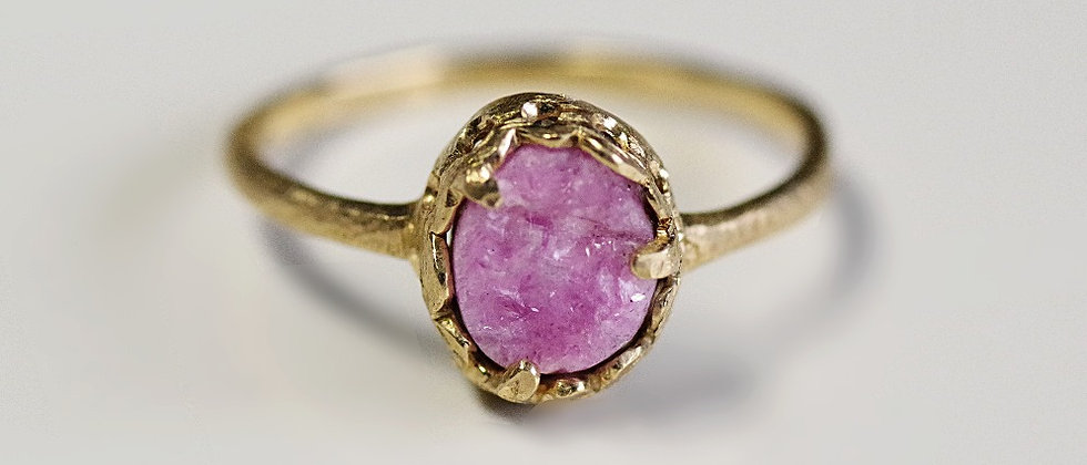 Cobaltoan Calcite Ring