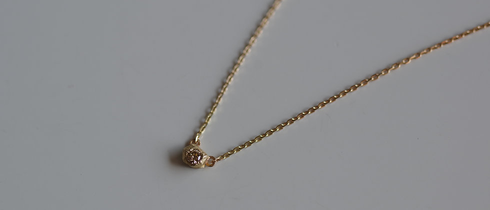 Stone Diamond Necklace