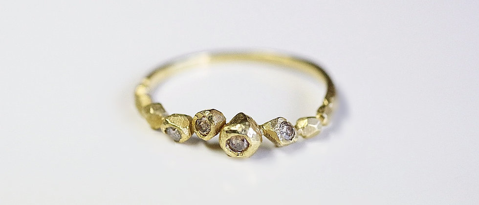 Stone Diamond Ring