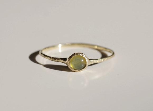 Yellow Opal Ring