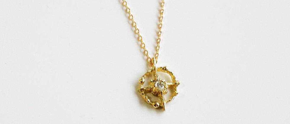 Cosmos Diamond Necklace