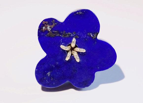 Flower Ring / Lapis Lazuli