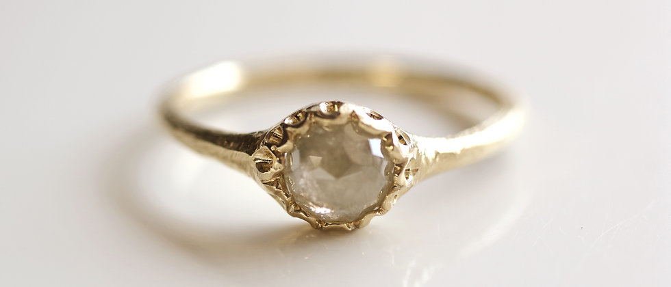 Smoky Diamond Ring