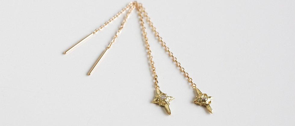 Meteor Diamond Earrings