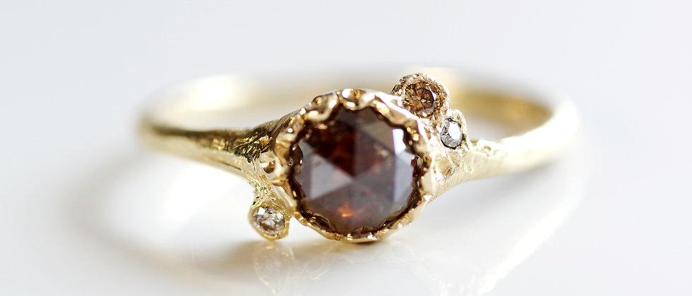 Blown Diamond Ring