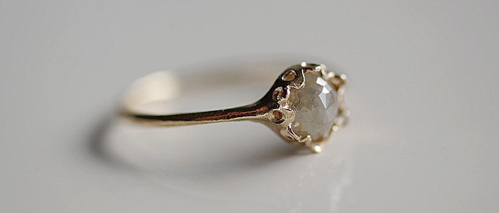 Smoky Diamond Ring