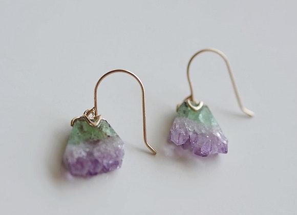 Crystal Agate Earrings