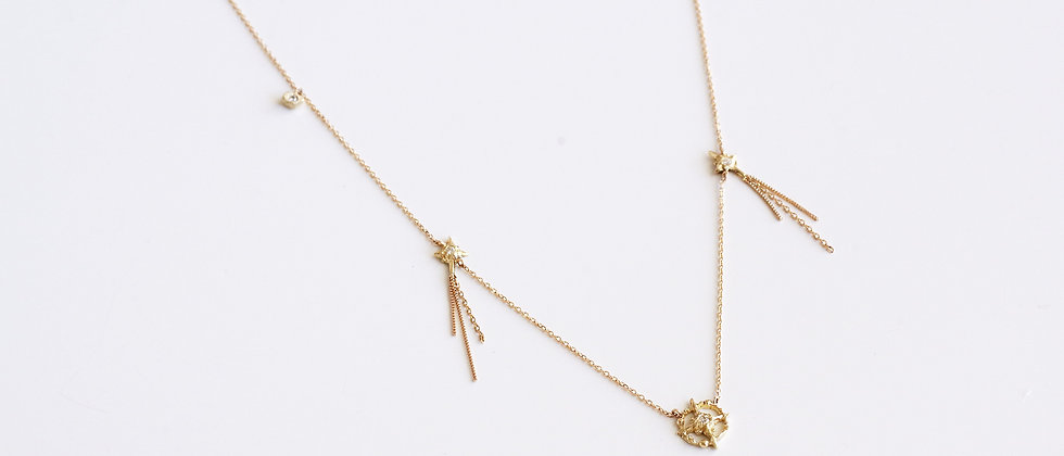 Meteor Diamond Necklace
