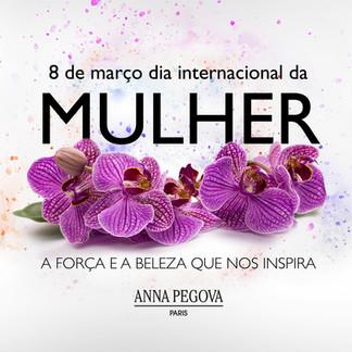 Campanha para Dia Internacional da Mulher