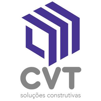 Logo CVT Soluções Construtivas