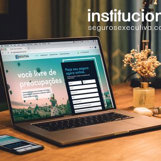 Site Institucional - Executiva Seguros