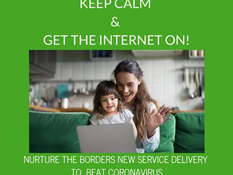 Keep Calm & Get the Internet On!
