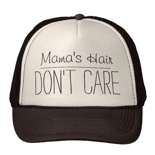 Mama Hair Trucker Cap