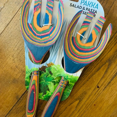 Pakka Wooden Salad Serving Set