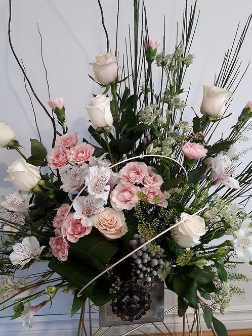 Elegant and classy arrangement