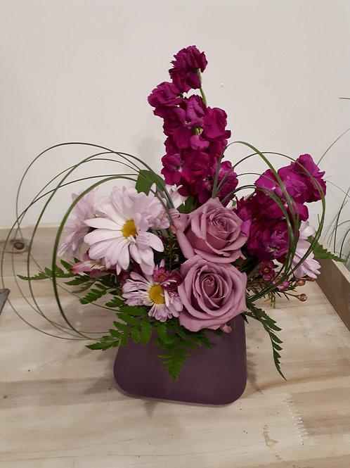 Purple for mom