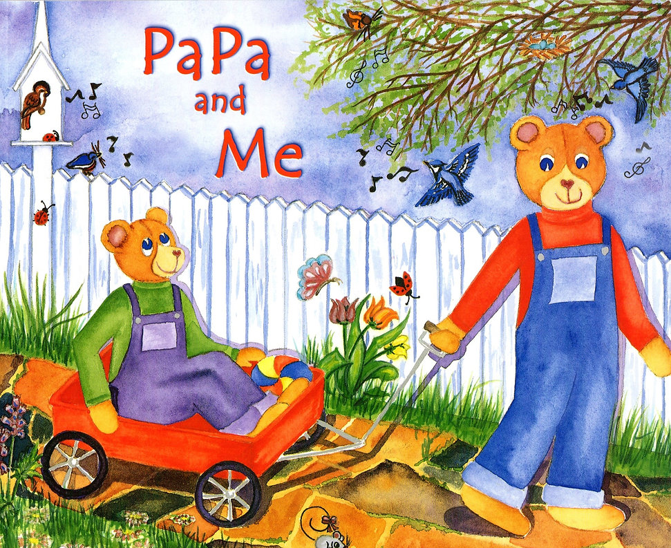 PaPa and Me Children's Book