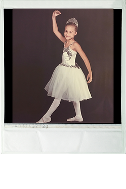 margaret young ballet white recital pola