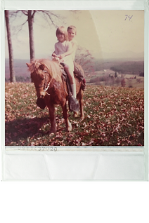 margaret young on horse asheville polaro
