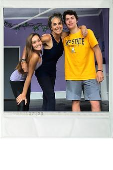 haley luke kids mom sage studio polaroid
