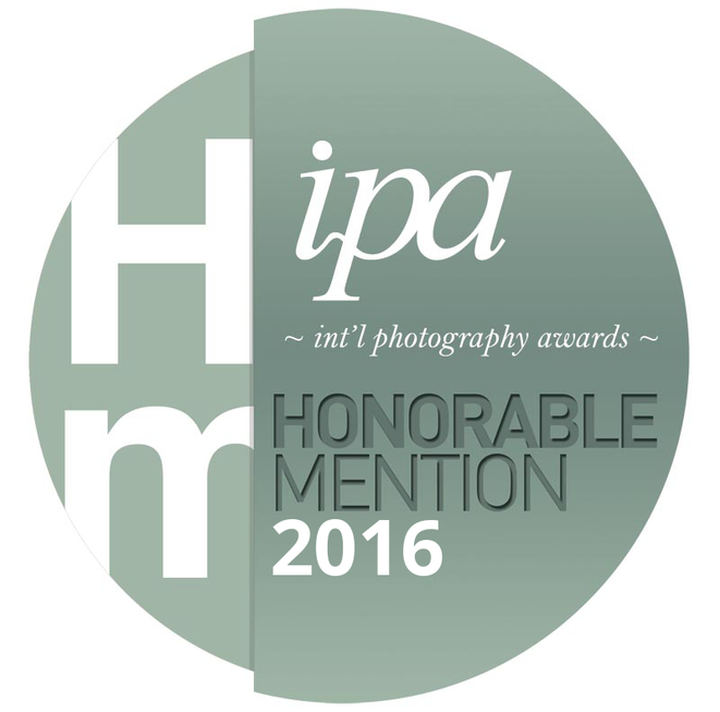 Honorable Mention in the International Photography Awards