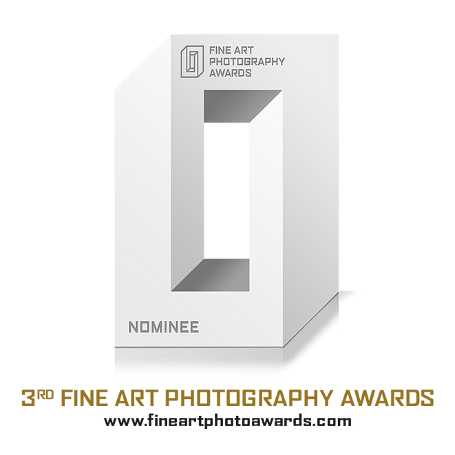 Abstract Nominee in 3nd edition of Fine Art Photography Awards